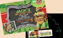 Gallery Of Boys And Girls Birthday Invitations E